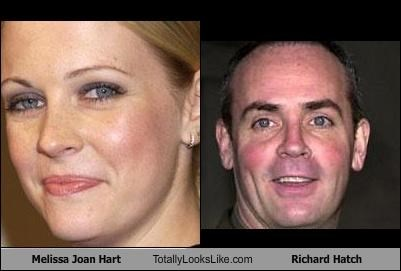 Melissa Joan Hart Totally Looks Like Richard Hatch