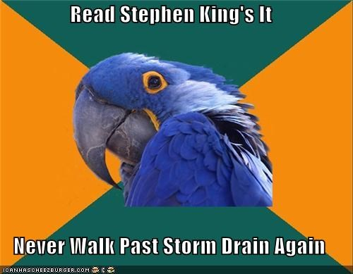 books,clowns,it,movies,Paranoid Parrot,pennywise,stephen king