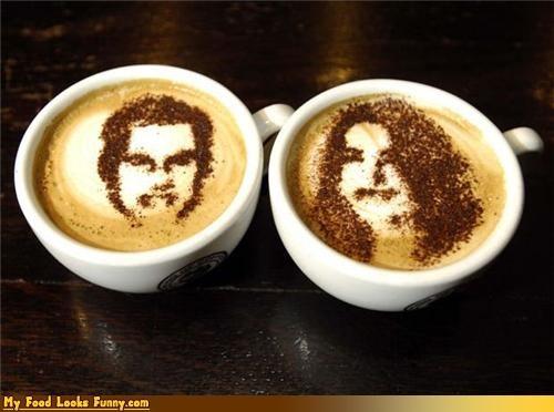 art,chocolate,coffee,foam,kate,latte,royal wedding,wills