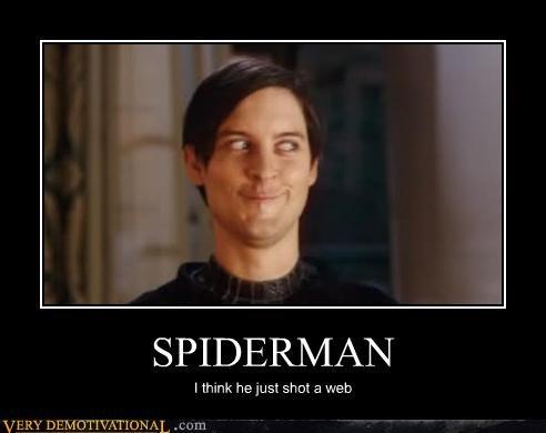 dat face,Movie,shot web,Spider-Man