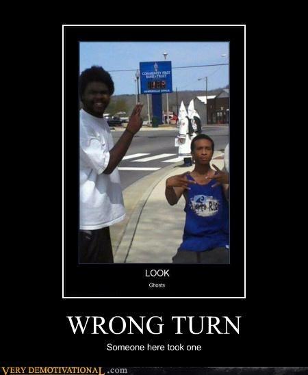 ghosts,kkk,wrong turn,wtf