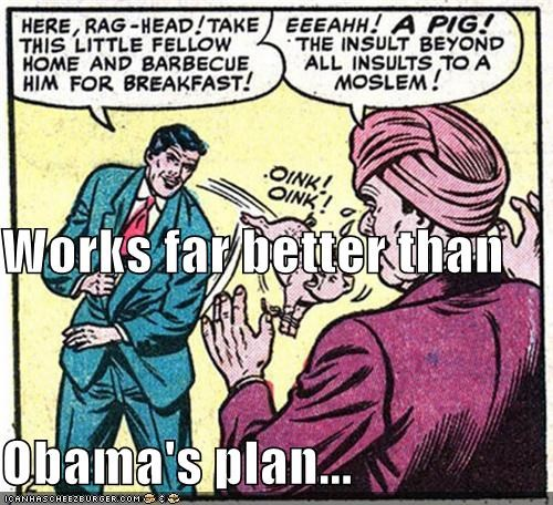 Works far better than  Obama's plan...