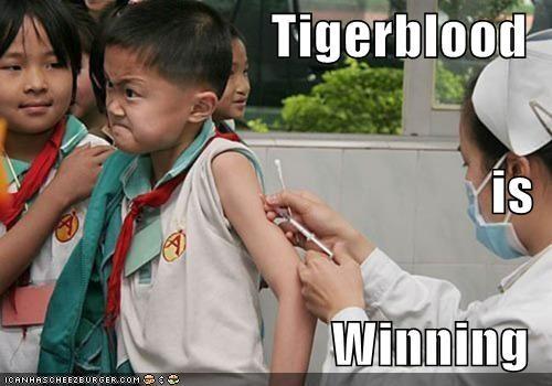Tigerblood is Winning