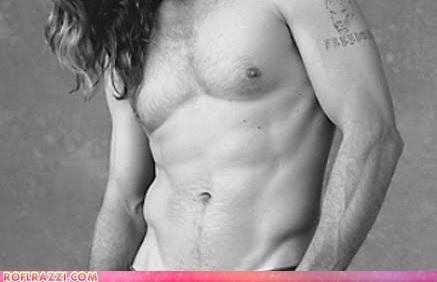 Celebrity Abs Guess Who!