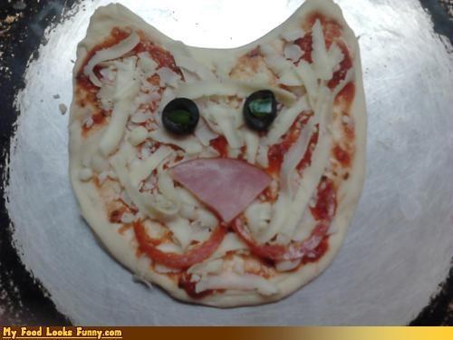 cat,pizza,teenager,zits