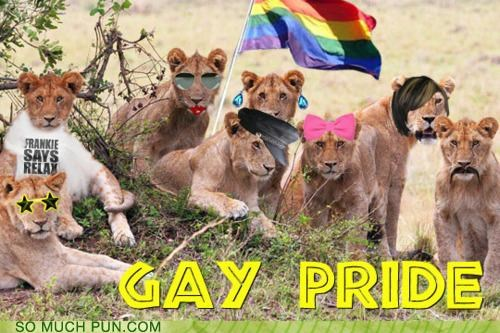 They Ain't Lion About Their Sexuality Anymore