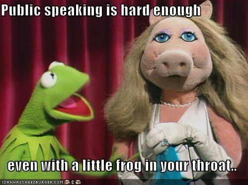 Public Speaking Is Hard