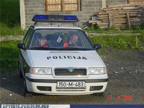 car,drunk,funny,passed out,police