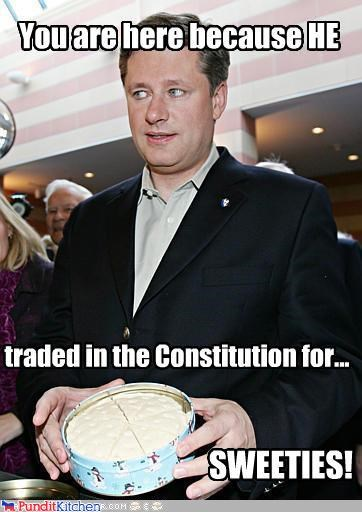 Stephen Harper's Canadian Delight