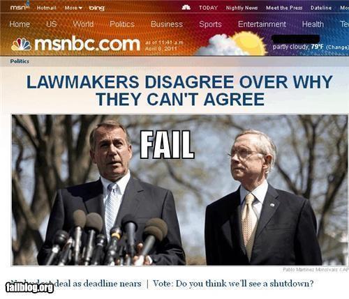 Congress,failboat,g rated,headlines,john boehner,politicians,politics,Probably bad News