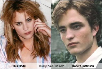 This Model Totally Looks Like Robert Pattinson