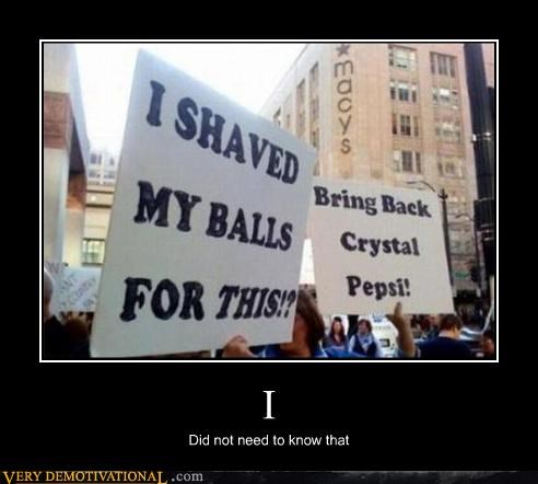 protesters,pubes,shaved,sign