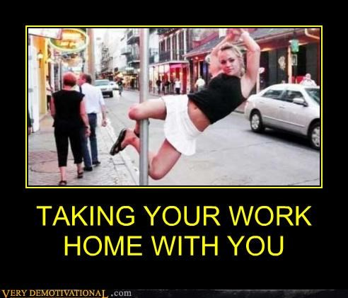 TAKING YOUR WORK HOME WITH YOU