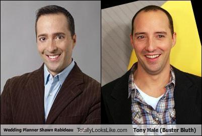 Wedding Planner Shawn Rabideau Totally Looks Like Tony Hale (Buster Bluth)