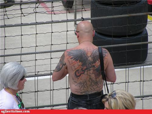 usa,july 4th,tattoos,fourth of july,america,funny,g rated,Ugliest Tattoos