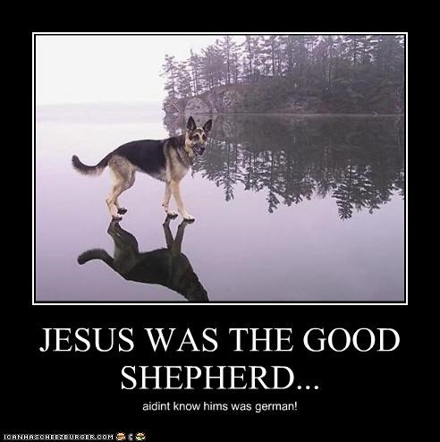 JESUS WAS THE GOOD SHEPHERD...