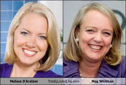 Melissa D'Arabian Totally Looks Like Meg Whitman