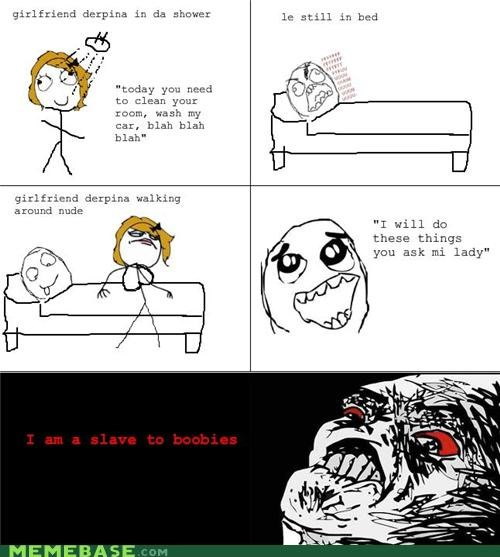 bed,Bludes,cleaning,Rage Comics,the show