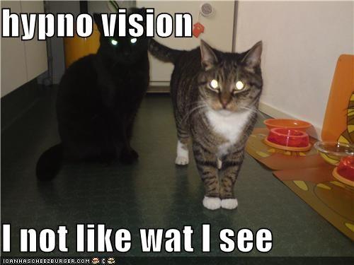 hypno vision  I not like wat I see