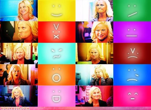 Leslie Knope: The Human Emoticon