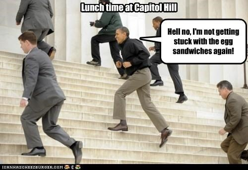 Lunch time at Capitol Hill