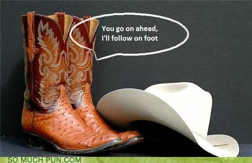 These Boots Were Made For... Talkin'?