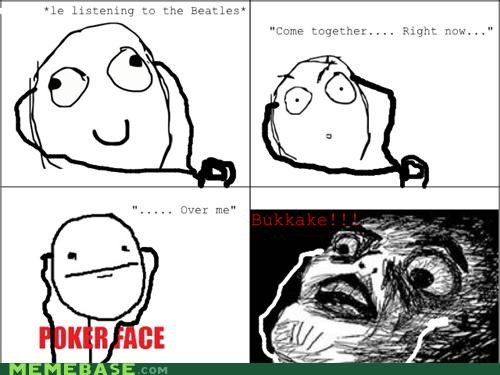 beatles,come together,messages,Rage Comics,Yoshimi Inaba