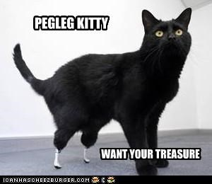 PEGLEG KITTY
