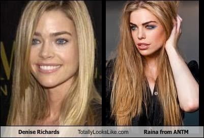 Denise Richards Totally Looks Like Raina from ANTM