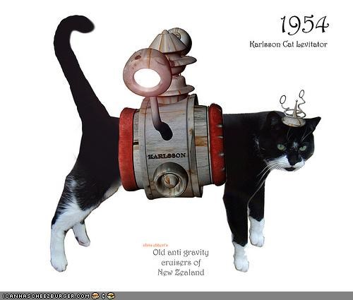 1954 Karlsson Cat Levitator