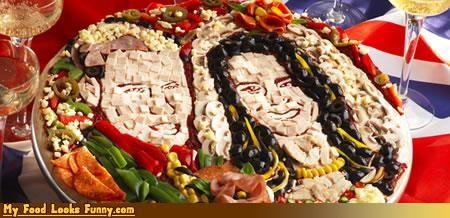 art,faces,kate,pizza,royal wedding,wills