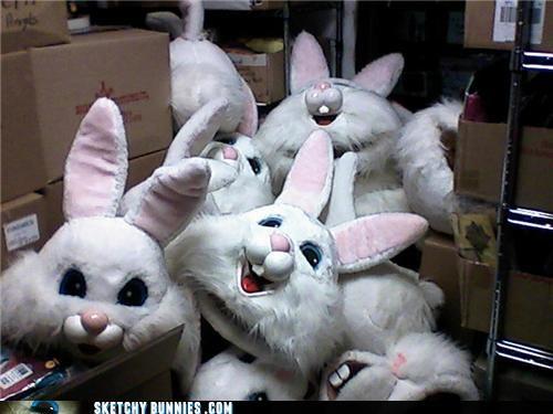 Sketchy Bunny Hideout