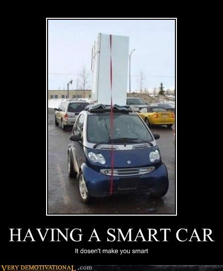 HAVING A SMART CAR