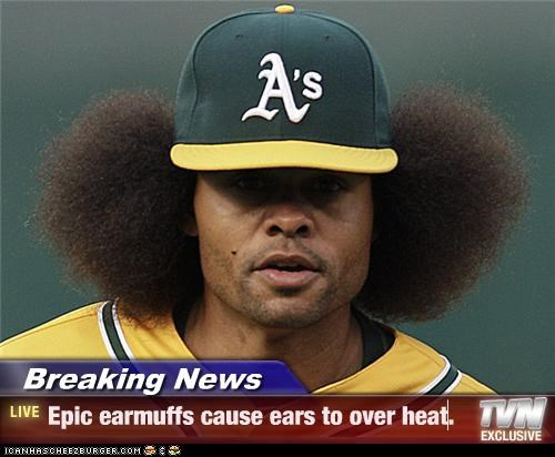 Breaking News - Epic earmuffs cause ears to over heat.