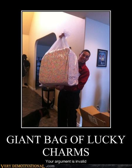 GIANT BAG OF LUCKY CHARMS