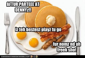 Post Party NOMZ!!!
