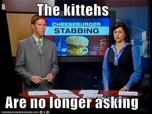 The kittehs  Are no longer asking