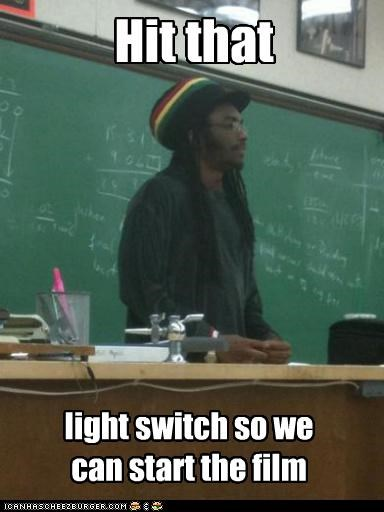 Rasta Prof: You're Projecting