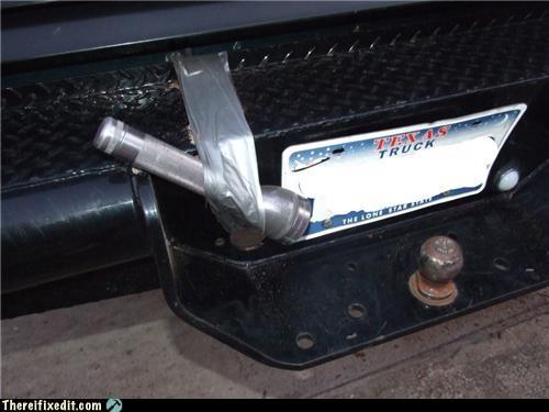 dual use,duct tape,flashlight,licenseplat