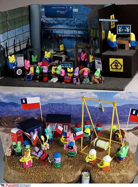 Chile,peeps,political pictures,TSA