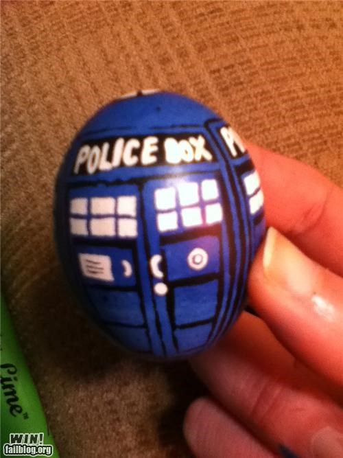 TARDIS Egg WIN