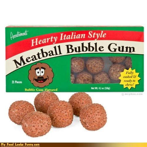 candy,gum,meatball,mustache,sweets
