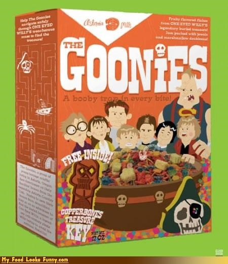 Goonies Cereal: A Booby Trap in Every Bite!