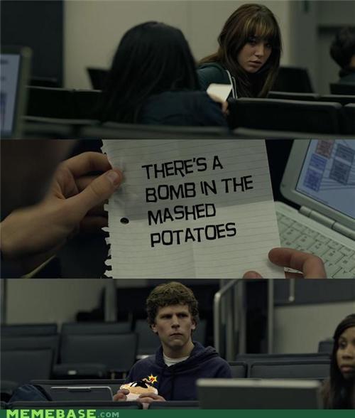 bomb,facebook,mashed potatoes,zuckerberg