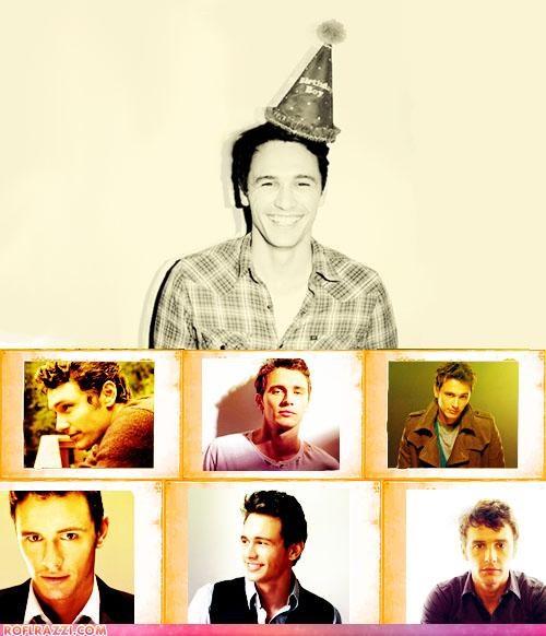actor,birthday,celeb,funny,happy birthday,James Franco
