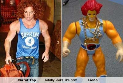 TLL Classics: Carrot Top Totally Looks Like Liono
