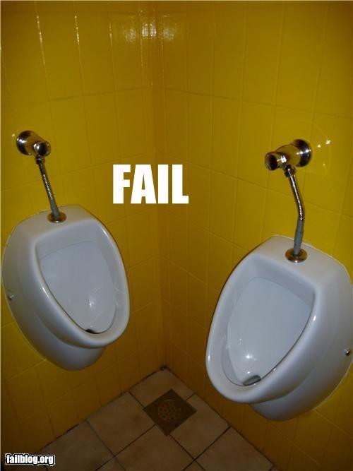 Urinal Placement Fail