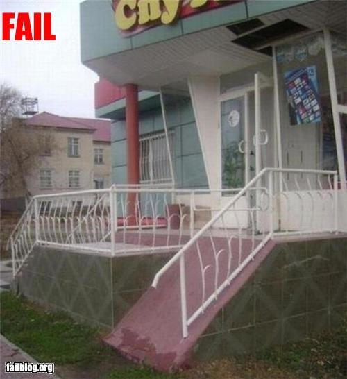 Disabled Access FAIL