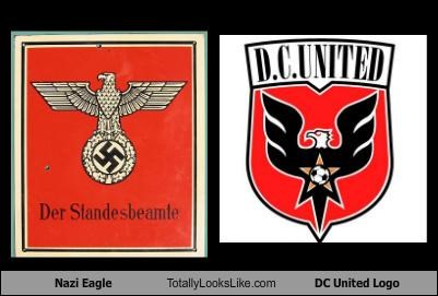 Nazi Eagle Totally Looks Like DC United Logo