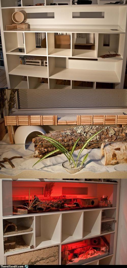 Not-A-Kludge: Ikea Hamster Habitat